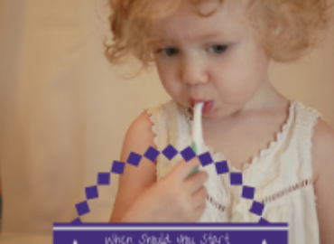 When Should You Start Brushing Your Child's Teeth? {Guest Blog post for Urban Infant Edmonton}